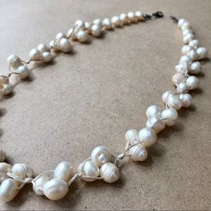 Jewelry - ⚪️ Natural Pearl Cluster Necklace ⚪️